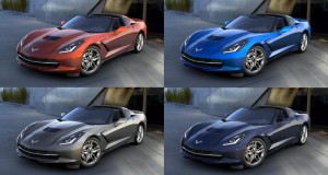 Four Paint Colors Discontinued for the 2016 Corvette