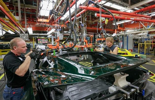 Corvette Assembly Plant Tours