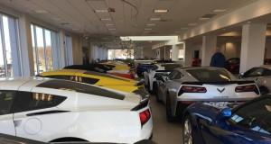 MacMulkin Chevrolet's Corvette Showroom