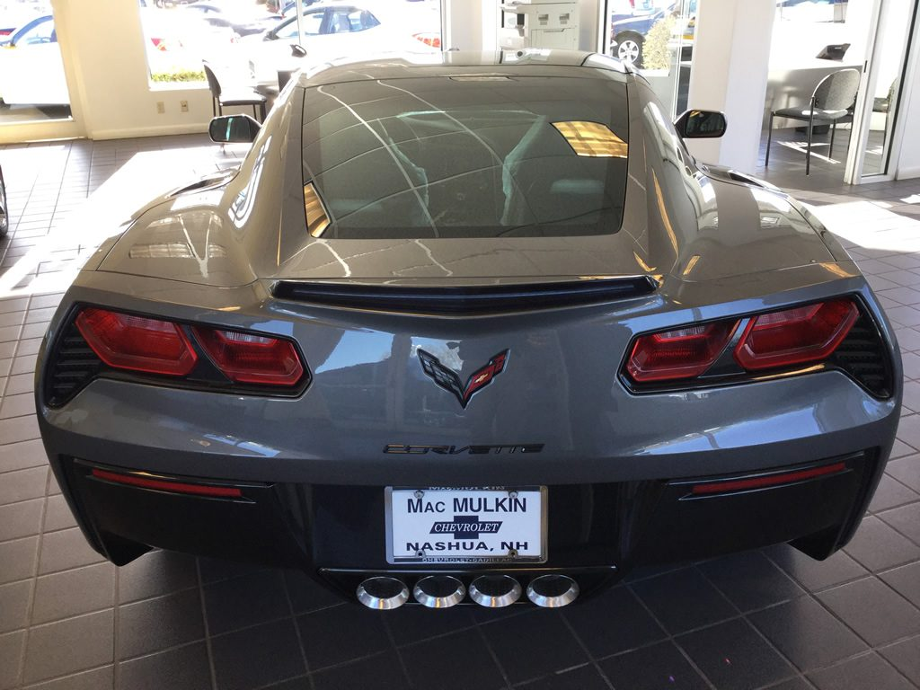 2016 Corvette Stingray Coupe 2LT in Shark Gray Metallic
