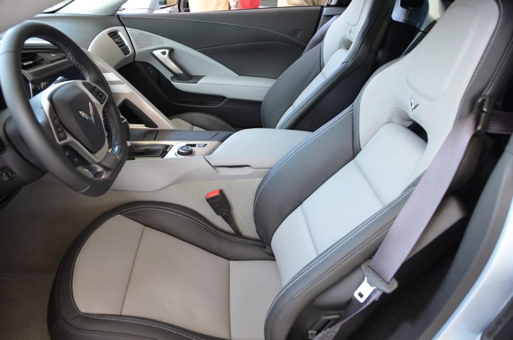 2017 Corvette Grand Sport Heritage Package in Sterling Blue Metallic
