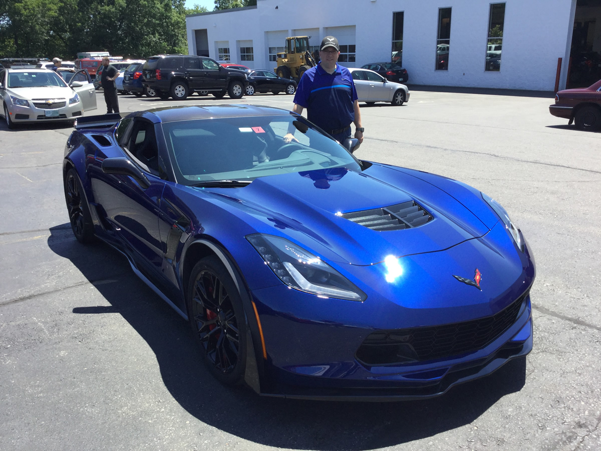 2016 Corvette Z06 - Admiral Blue Metallic - Z07 Performance Package, 3LZ Trim Package - Dark Gray Interior