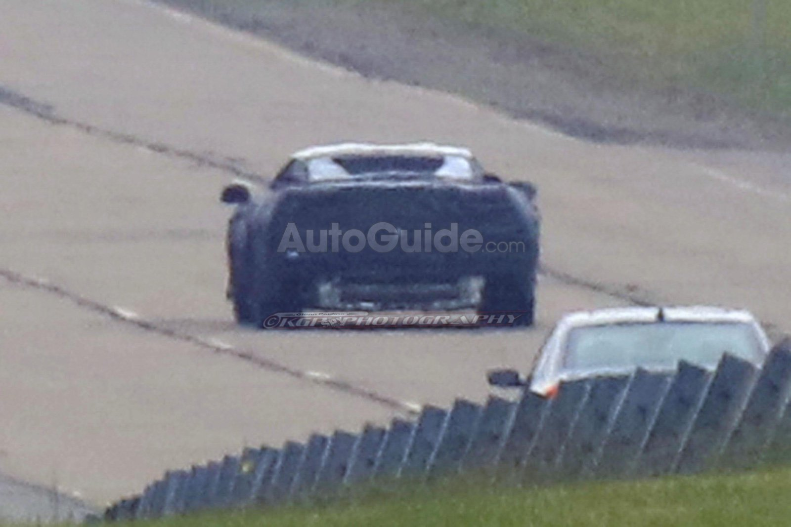 Mid-Engine 2019 Corvette Spied Testing in the Daylight