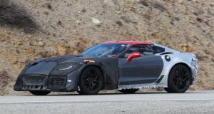 SPIED! 2018 Chevrolet Corvette ZR1 Spied Testing with Aggressive Styling