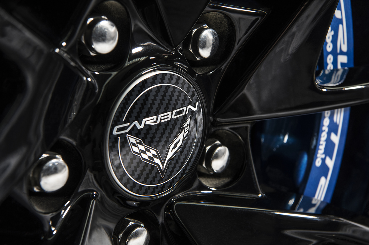 Black wheels with machined grooves and Carbon-logo center caps come standard on the Carbon 65 Edition.