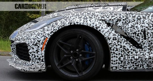 2018 Corvette ZR1 Showing Off New Wheels