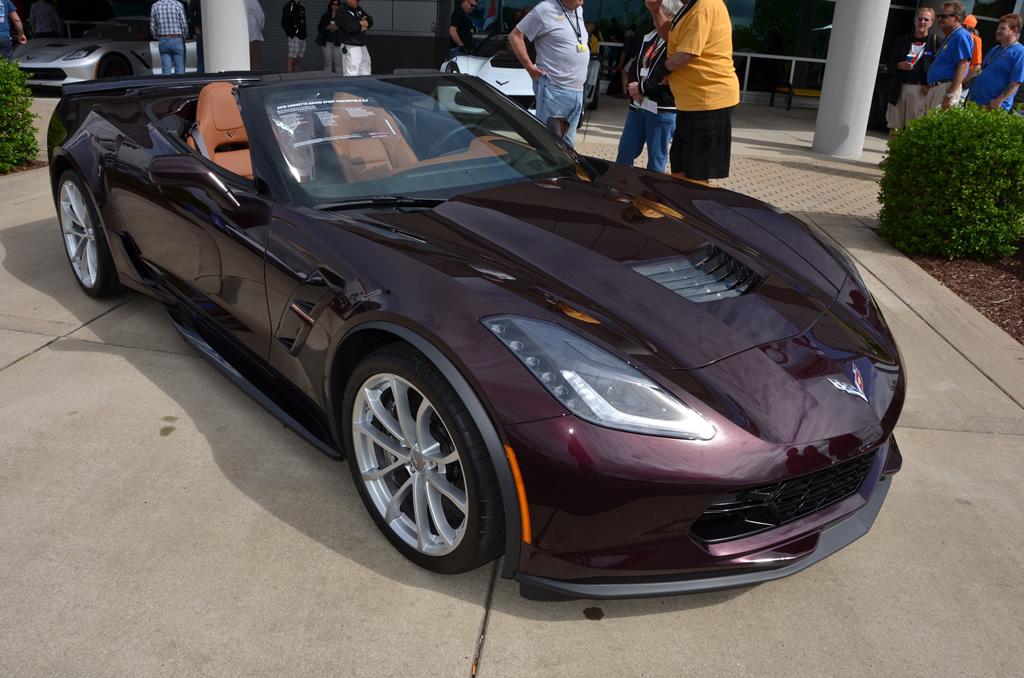 2018 Corvette Grand Sport Convertible 2LT