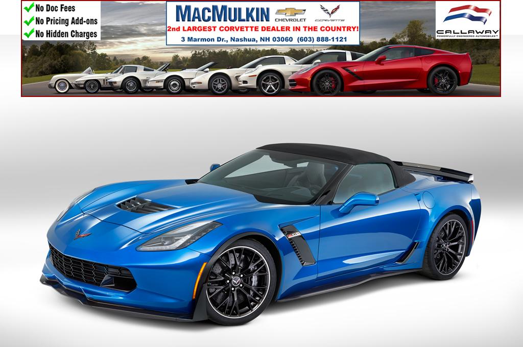 November Corvette Incentives - 20% - 14% Off 2017 Corvettes! - MacMulkin Corvette - 2nd Largest ...