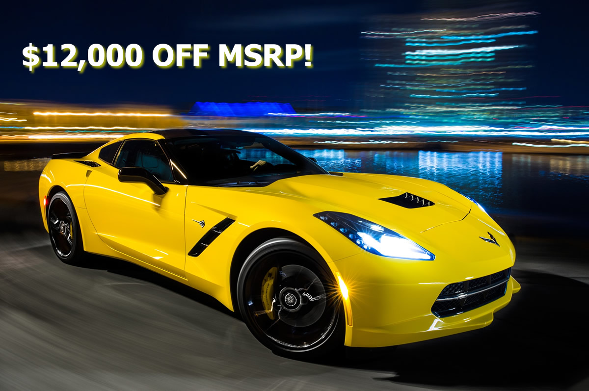 12 000 Off Msrp On Select 2018 Corvettes For The Rest Of