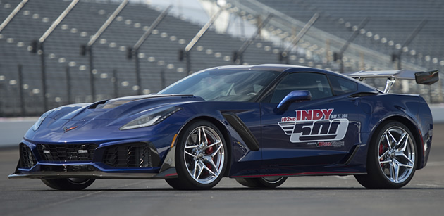 Gm Press Release 2019 Corvette Zr1 To Pace 102nd